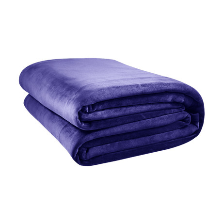 Original Stretch Blanket // Purple