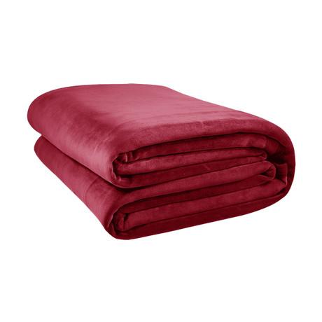 Original Stretch Blanket // Crimson