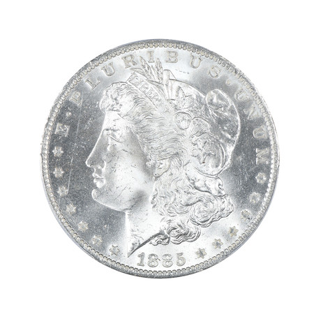1885-O Morgan Dollar PCGS Certifed MS66