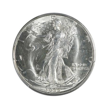 1935-D Walking Liberty Half Dollar PCGS Certified MS65