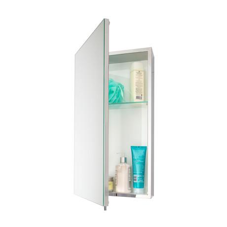 Mirrored Medicine Cabinet Stainless Steel