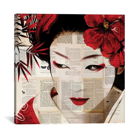 "Geisha II // Caroline Wendelin (12""W x 12""H x 0.75""D)"