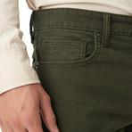 Italian Moleskin Pant // Olive (29x34 Slim)