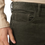 French Corders 5 Pocket Pant // Olive (29x34 Slim)