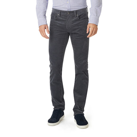 French Corders 5 Pocket Tailored Pant // Charcoal (29x34 Slim)