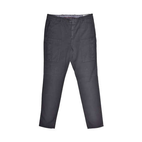 Casual Cargo Pants // Navy (30WX32L)