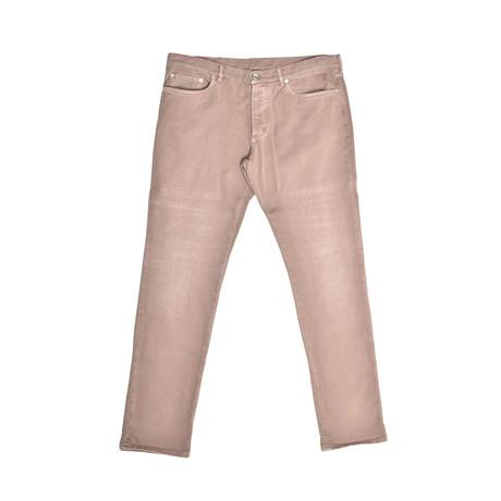 5 Pocket Denim Jeans // Beige (30WX32L)