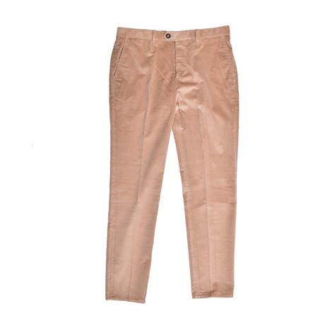 Casual Corduroy Pants // Beige (30WX32L)