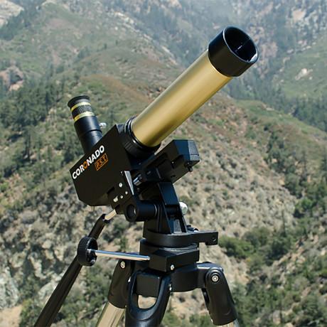 Personal Solar Telescope + Case Bundle