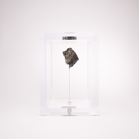 Space Box // Sikhote Alin Meteorite from Siberia, Russia // Medium