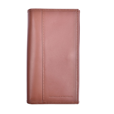 Brunello Cucinelli // Wallet // Brown