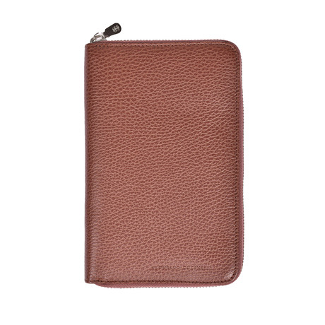 Zip Around Wallet // Brown