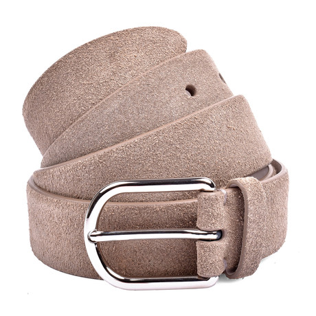 Suede Belt // Beige (85cm)