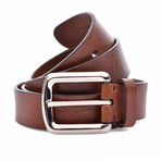 "Leather Belt // Brown (35"" Length)"