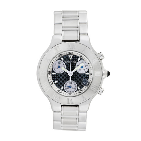 Cartier 21 Chronoscaph Quartz // Pre-Owned