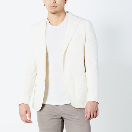 Coleman Tailored Jacket // Ivory (Euro: 46)