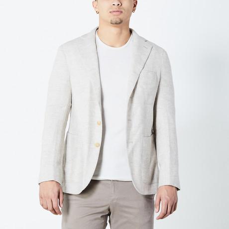 Zane Half Lined Tailored Jacket // Tan (Euro: 46)