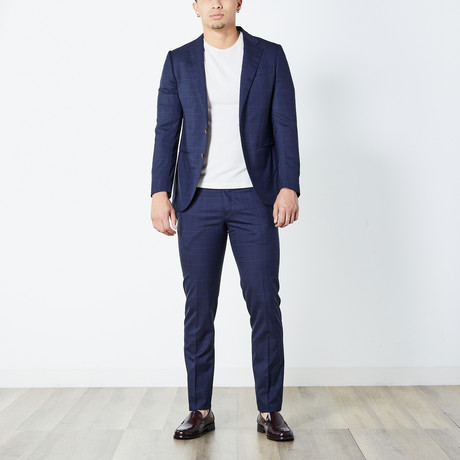 Justin Half Lined Suit // Blue (Euro: 46)