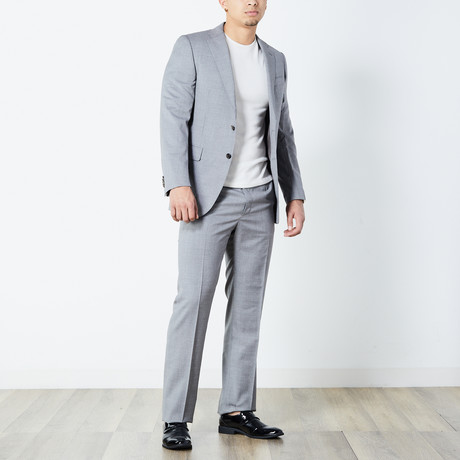 Myles Fully Lined Suit // Taupe (Euro: 46)