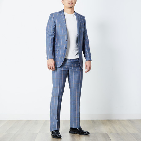 Titus Fully Lined Suit // Gray (Euro: 46)