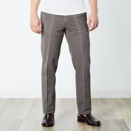 Carson Tailored Pant // Dark Taupe (Euro: 46)