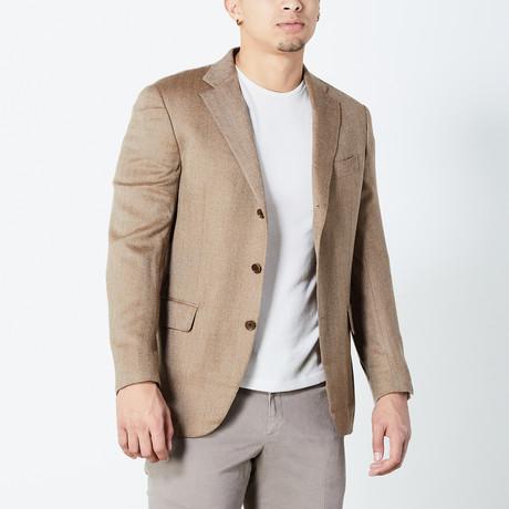 Dakota Fully Lined Tailored Jacket // Brown (Euro: 46)