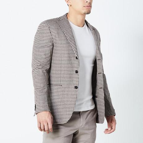 Elijah Half Lined Tailored Jacket // Brown (Euro: 46)