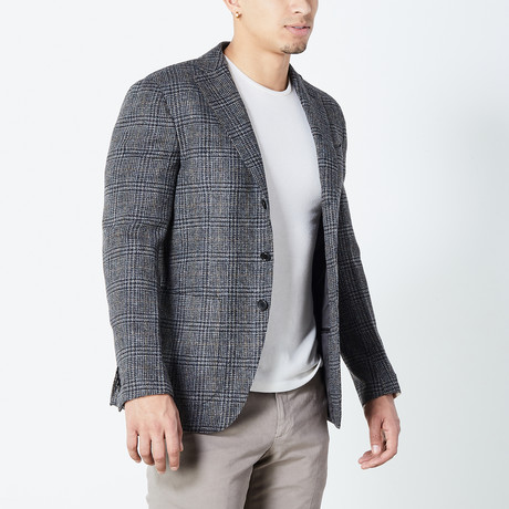 Declan Half Lined Tailored Jacket // Gray (Euro: 46)