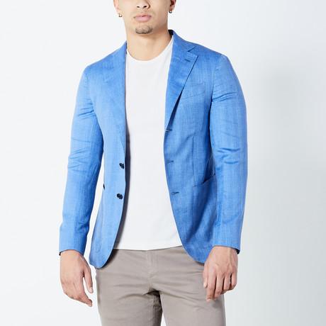 Jayson Half Lined Tailored Jacket // Blue (Euro: 46)