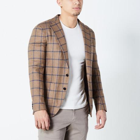 Desmond Half Lined Tailored Jacket // Brown (Euro: 46)