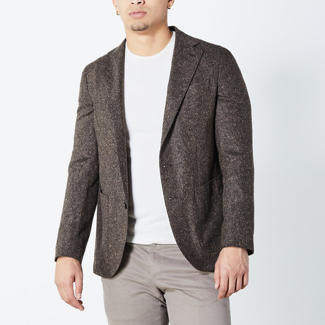 Hector Half Lined Tailored Jacket // Taupe (Euro: 46)