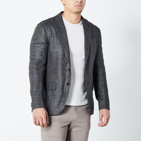 Garrett Fully Lined Tailored Jacket // Gray (Euro: 46)