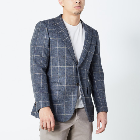 Adriel Fully Lined Tailored Jacket // Gray (Euro: 46)