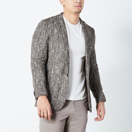 Hendi Half Lined Tailored Jacket // Brown (Euro: 46)