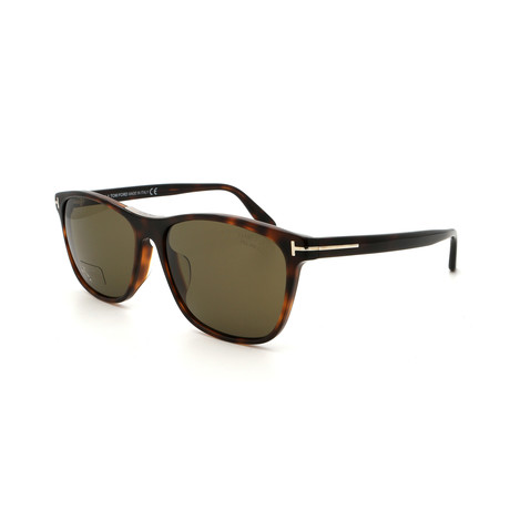 Men's FT06295852H Sunglasses // Tortoise + Brown