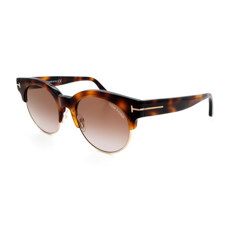Unisex FT05985253G Sunglasses // Blonde Havana + Brown