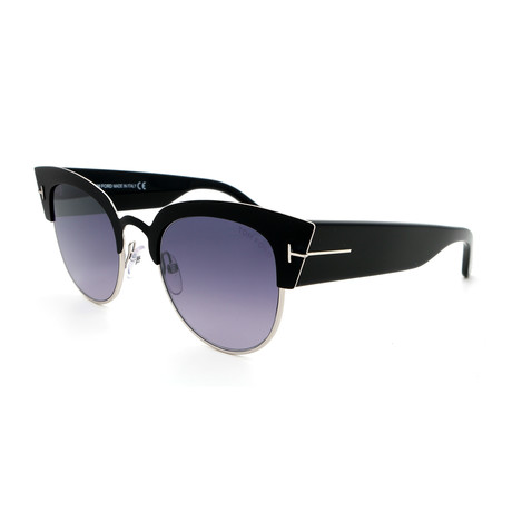 Women's Sound FT06075105C Sunglasses // Black Mirror + Gray