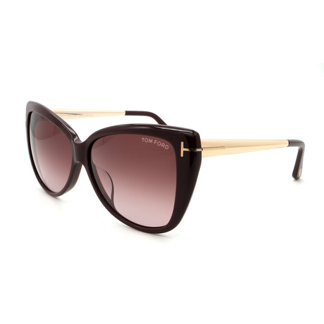 Women's FT05125981Z Sunglasses // Black + Violet