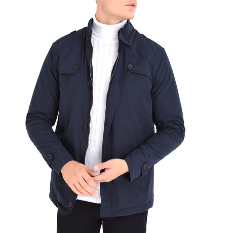 Hawaii Jacket // Navy Blue (S)