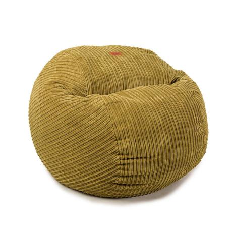 Convertible Bean Bag Chair // Terry Corduroy // Kiwi // Full