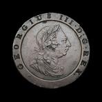 "Great Britain, George III // Huge Copper ""Cartwheel Penny,"" 1797"