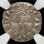 Silver Crusader Coin // Struck 1162 - 1201 AD