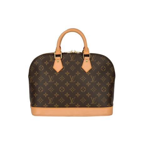 Louis Vuitton // Alma Monogram Canvas PM Handbag // Brown // Pre-Owned