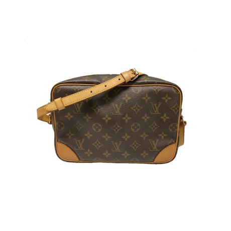 Louis Vuitton // Monogram Canvas Ebene Trocadero Shoulder Strap Bag // Brown // Pre-Owned