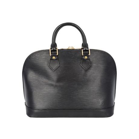 Louis Vuitton // Vintage Alma Epi Leather PM Handbag // Black // Pre-Owned