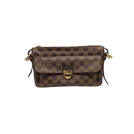 Louis Vuitton // Damier Ebene Ravello GM Bag // Brown // Pre-Owned