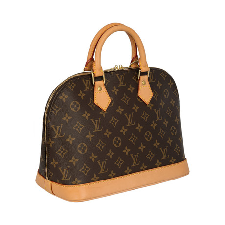 Louis Vuitton // Alma Monogram Canvas PM Handbag // Brown // Pre-Owned
