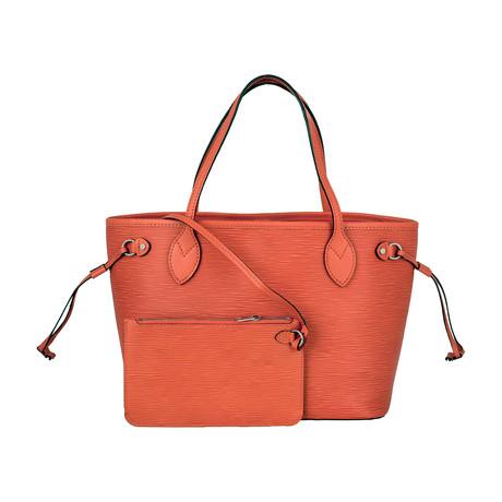 Louis Vuitton // Epi Leather Pimon Neverfull PM Bag // Orange // Pre-Owned