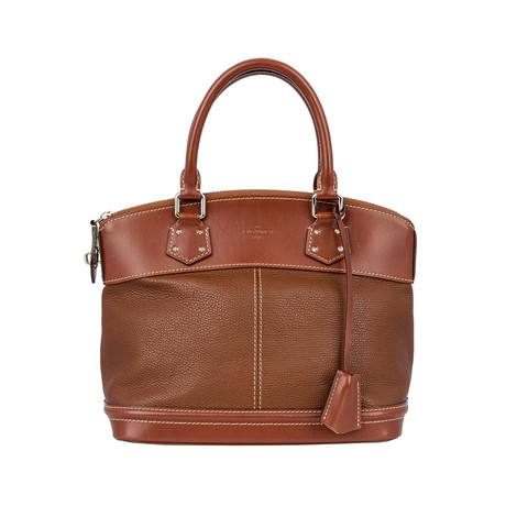 Louis Vuitton // Suhali Lockit Leather PM Handbag // Brown // Pre-Owned