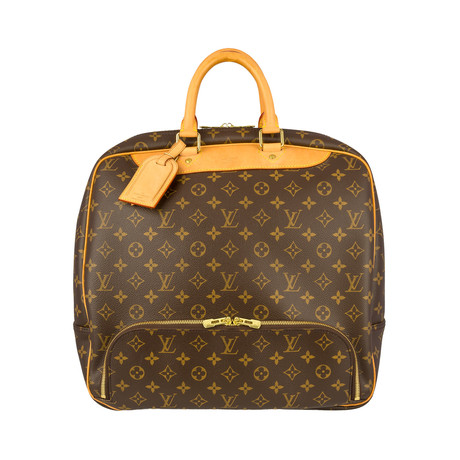 Louis Vuitton // Monogram Evasion Boston Bag // Brown // Pre-Owned